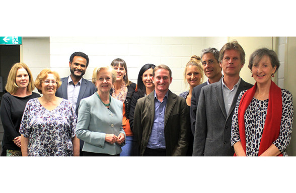 CHRE Staff and adjuncts with Professor Gillian Triggs