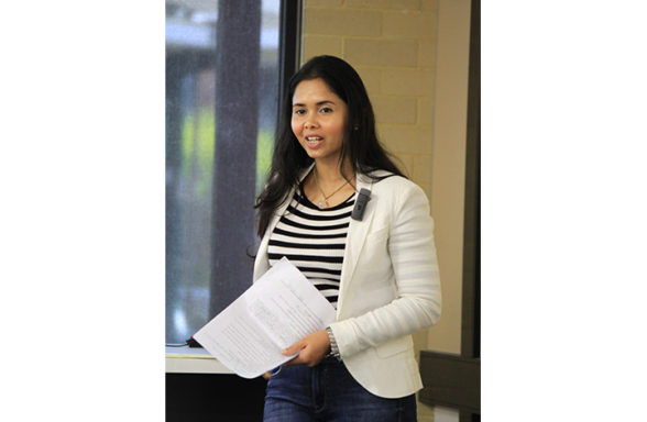 PhD Colloquium 2017, Mary Lynn de Silva