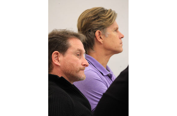 PhD Colloquium 2017, Greg Watson and Christopher Macfarlane