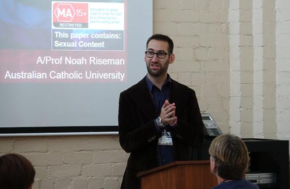 Noah Riseman Session 1 Day 1 InASA Conf Christopher Macfarlane