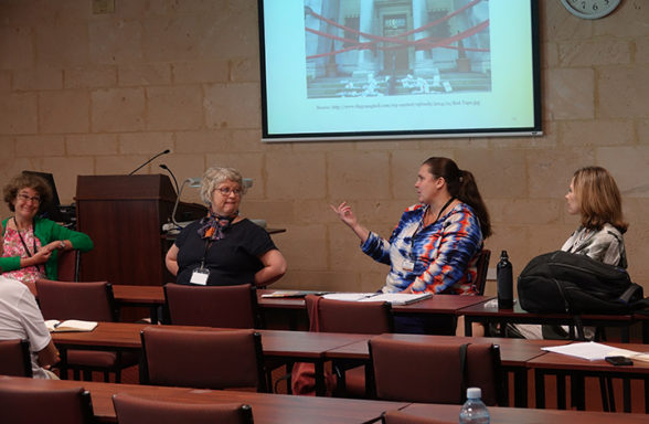 Joanne Evans, Cate O'Neill, Kate Gregory, Narissa Timbery Session 3 Day 2 InASA Conf Christopher Macfarlane