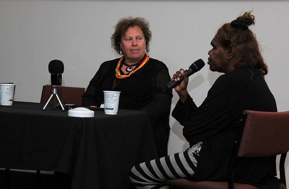 Linda Rive, Rene Kulitja Session 3 Day 2 InASA Conf Chris Lewis
