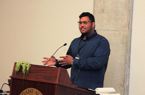 Ali Raza Yusafzai Day 2 Plenary 6 InASA Conf Chris Lewis
