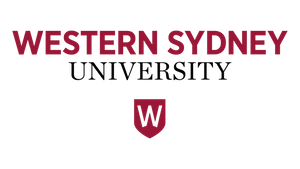 Colour Logo of Western Sydney University