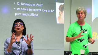 Dr Sonia Tascon and Dr Rob Garbutt