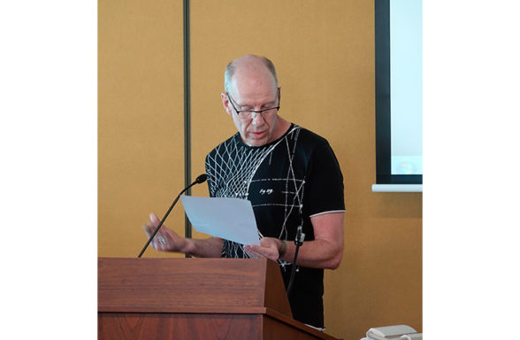 Martin Renes Day 3 Session 7 InASA Conference Christopher Macfarlane