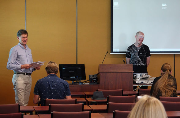 Mitchell Rolls and Martin Renes Day 3 Session 7 InASA Conference Christopher Macfarlane