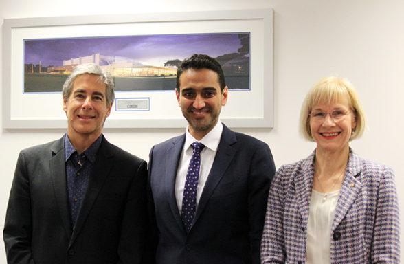 (L-R) Professor Baden Offord, Dr Waleed Aly, Professor Deborah Terry