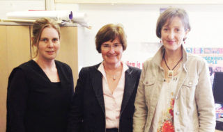 Associate Professor Mary Anne Kenny, Professor Mary Crock and Dr Caroline Fleay at the Centre for Human Rights Education