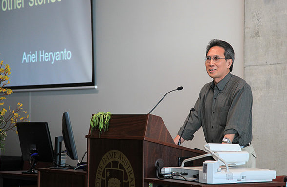 Ariel Heryanto Day 3 Plenary 7 InASA Conference Chris Lewis