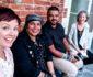 Misty Farquhar, Marziya Mohammedali, Riyadh Hakimi and Caroline Fleay