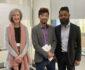 Caroline Fleay, Salem Askari and James Jegasothy, A/Executive Director, Office of Multicultural Interests